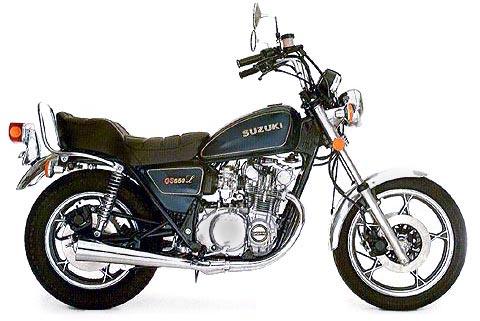 Gs L Blue on 1980 Suzuki Gs550l